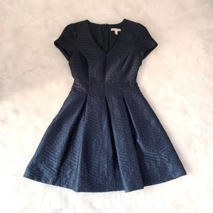 EUC Banana Republic Black Flare Mini Dress